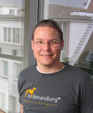 Jonas Sextl, Geschäftsführer, inBehandlung Tierarztsoftware