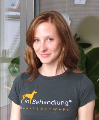 Melanie Schickel, Vertrieb und Marketing Leitung, inBehandlung Tierarztsoftware