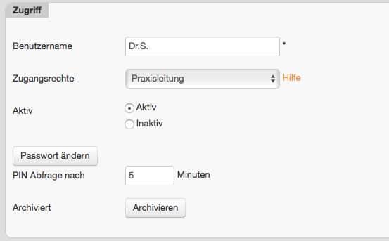 Kunden gesteuerte Entwicklung • inBehandlung.de