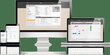 Mobile Tierarztsoftware, inBehandlung