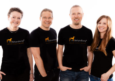 Das Team von inBehandlung Tierarztsoftware