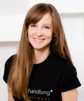 Melanie Schickel, Vertrieb und Marketing Leiterin, inBehandlung